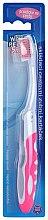 Парфюми, Парфюмерия, козметика Четка за зъби за пътуване, розова - VitalCare White Pearl Folding Travel Toothbrush