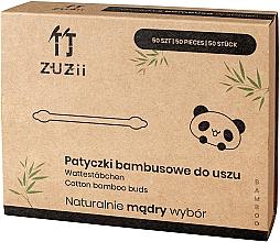 Парфюмерия и Козметика Детски бамбукови клечки за уши - Zuzii