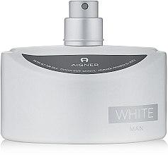 Парфюми, Парфюмерия, козметика Aigner White Man - Тоалетна вода (тестер без капачка)