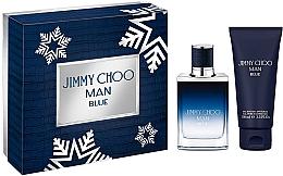 Парфюмерия и Козметика Jimmy Choo Man Blue - Комплект (тоал. вода/50ml + душ гел/100ml)