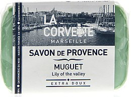 """Парфюми, Парфюмерия, козметика Провансалски сапун """"Момина сълза"""" - La Corvette Provence Soap Lily Of The Valley"""