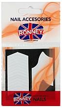Парфюмерия и Козметика Трафарети за френски маникюр - Ronney Professional