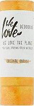 """Парфюмерия и Козметика Дезодорант стик """"Праскова"""" - We Love The Planet Original Orange Deodorant Stick"""