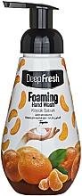 """Парфюмерия и Козметика Измиваща пяна за ръце """"Мандарина"""" - Aksan Deep Fresh Foaming Hand Wash Tangerine"""