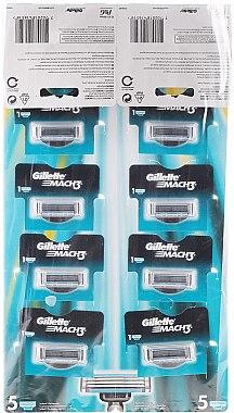 Комплект самобръсначки, 10 броя - Gillette Mach 3 — снимка N1