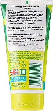 "Скраб за лице против акне ""Чаено дърво"" - Beauty Formulas Tea Tree Facial Scrub — снимка N2"