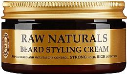Парфюмерия и Козметика Крем за оформяне на брада - Recipe For Men RAW Naturals Beard Styling Cream