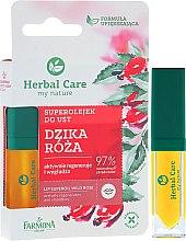 Парфюмерия и Козметика Хидратиращо масло за устни - Farmona Herbal Care Lip Oil