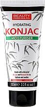 Парфюмерия и Козметика Овлажняващ крем за лице - Beauty Formulas Konjac Hydration Moisturiser