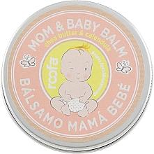 Парфюмерия и Козметика Балсам за майки и деца с масло от шеа и невен - Roofa Calendula & Panthenol Mom & Baby Shea Butter & Calendula Balm
