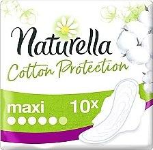 Парфюми, Парфюмерия, козметика Дамски превръзки с крила, 10 бр. - Naturella Cotton Protection Ultra Maxi
