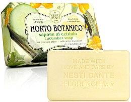 "Парфюмерия и Козметика Сапун ""Краставица"" - Nesti Dante Horto Botanico Cucumber Soap"