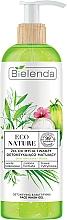 Парфюмерия и Козметика Детоксикиращ и матиращ почистващ гел за лице - Bielenda Eco Nature Coconut Water Green Tea & Lemongrass Detox & Mattifyng Face Wash Gel