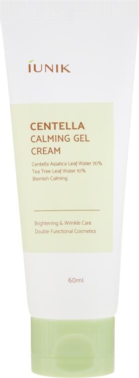 Успокояващ крем-гел за лице с Готу кола - IUNIK Centella Calming Gel Cream