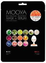 Парфюми, Парфюмерия, козметика Маска + серум с екстракт от хайвер от сьомга - Beauty Face Mooya Bio Organic Treatment Mask + Serum
