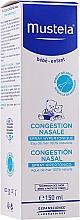 Парфюмерия и Козметика Хипертоничен спрей за назална конгестия - Mustela Nasal Congestion Hipertonic Spray