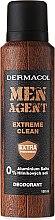 Дезодорант за мъже - Dermacol Men Agent Extreme Clean Deodorant — снимка N1