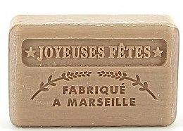 Парфюмерия и Козметика Марсилски сапун - Foufour Savonnette Marseillaise Joyeuses Fetes