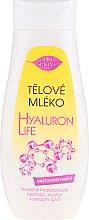 Парфюмерия и Козметика Тоалетно мляко за тяло - Bione Cosmetics Hyaluron Life Body Milk With Hyaluronic Acid