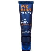 Парфюми, Парфюмерия, козметика Защитен крем за лице и устни - Piz Buin Mountain Sun Cream Plus Lipstick SPF15