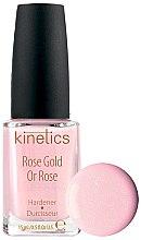 Парфюми, Парфюмерия, козметика Заздравител за нокти - Kinetics Rose Gold Hardener