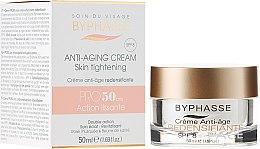 Парфюми, Парфюмерия, козметика Дневен крем за лице против стареене SPF 8 - Byphasse Anti-aging Cream Pro50 Years Skin Tightening