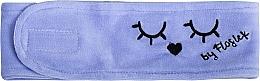 Парфюмерия и Козметика Козметична лента за глава, светлосиня - Floslek