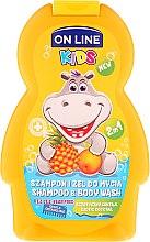 """Парфюми, Парфюмерия, козметика Шампоан-душ гел за деца """"Екзотичен коктейл"""" - On Line Kids Shampoo & Body Wash"""