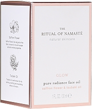 Парфюмерия и Козметика Възстановяващо масло за лице - Rituals The Ritual Of Namaste Glow Anti-Aging Face Oil