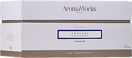 "Парфюмерия и Козметика Бомбичка за вана ""Одухотвореност"" - AromaWorks Soulful AromaBomb Duo"