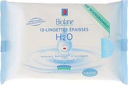 Парфюми, Парфюмерия, козметика Детски плътни мокри кърпички - Biolane Baby H2O Napkins