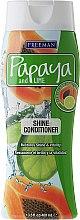 Парфюми, Парфюмерия, козметика Балсам за блестяща коса - Freeman Papaya and Lime Shine Conditioner