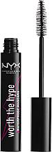 Парфюмерия и Козметика Водоустойчива спирала за мигли - NYX Professional Makeup Worth The Hype Waterproof Mascara