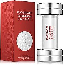 Парфюми, Парфюмерия, козметика Davidoff Champion Energy - Тоалетна вода