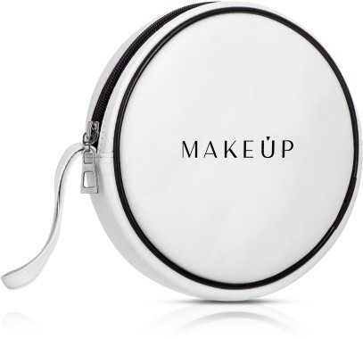 Козметичен несесер в бял цвят (16 x 4см) - MakeUp