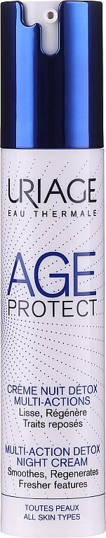 Нощен детокс крем за корекция на бръчки - Uriage Age..