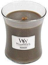 Парфюмерия и Козметика Ароматна свещ в чаша - WoodWick Hourglass Candle Oudwood