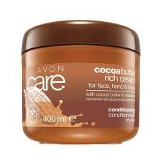 Парфюмерия и Козметика Универсален регенериращ крем с масло от какао и витамин Е - Avon