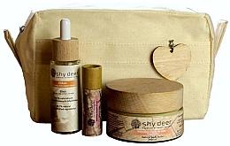 Парфюмерия и Козметика Комплект - Shy Deer Zero Waste Set (еликсир/30ml + масло за тяло/100ml + масло за устни/12ml + чанта)