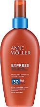 Парфюмерия и Козметика Слънцезащитен спрей за ускоряване на тена - Anne Moller Express Body Bronzer Spray SPF30