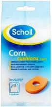 Парфюмерия и Козметика Защитна възглавница за мазоли - Scholl Corn Cushions-Foam