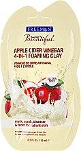 """Парфюми, Парфюмерия, козметика Маска 4в1 за лице """"Ябълков оцет"""" - Freeman Feeling Beautiful 4-in-1 Apple Cider Vinegar Foaming Clay (мини)"""