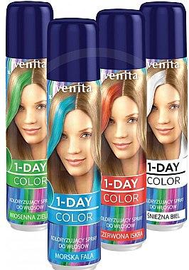 Спрей-оцветител за коса - Venita 1-Day Color Spray