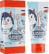 Парфюмерия и Козметика Кислородна маска за почистване на пори - Elizavecca Hell-Pore Bubble Blackboom Pore Pack