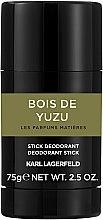 Парфюми, Парфюмерия, козметика Karl Lagerfeld Bois De Yuzu - Стик дезодорант
