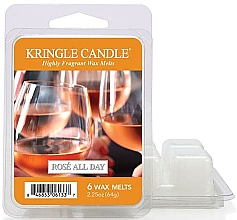 Парфюмерия и Козметика Восък за арома лампа - Kringle Candle Rose All Day Wax Melts