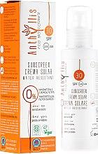 Парфюмерия и Козметика Водоустойчив слънцезащитен крем за тяло SPF30 - Anthyllis Sunscreen Creama Solar Water Resistant