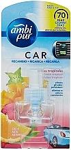 """Парфюмерия и Козметика Пълнител за ароматизатор """"Тропически плодове"""" - Ambi Pur Air Freshener Refill Tropical Fruits"""