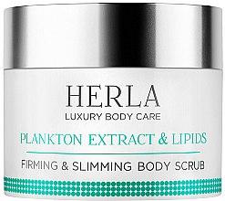 Парфюми, Парфюмерия, козметика Скраб за тяло - Herla Luxury Body Care Plankton Extract & Lipids Body Mask