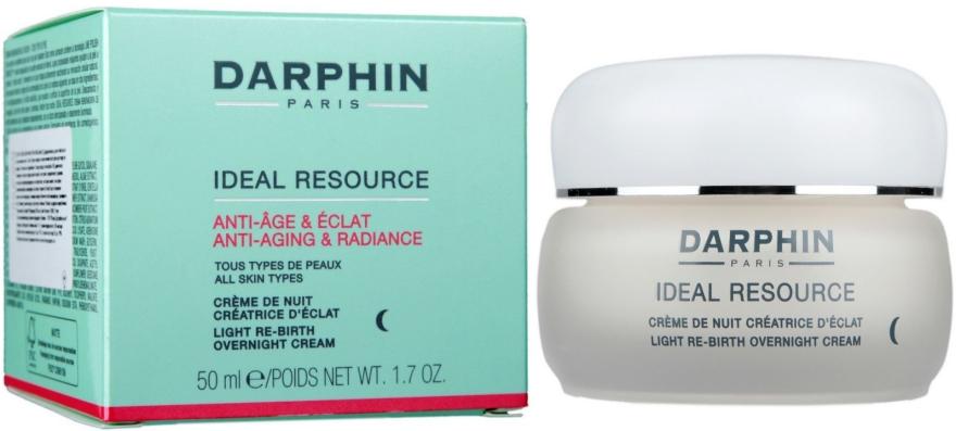 Възстановяващ нощен крем против бръчки, за всеки тип кожа - Darphin Ideal Resource Re-Birth Overnight Cream — снимка N1